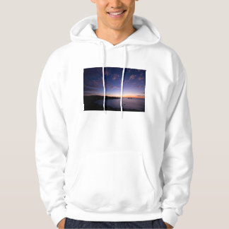A Sunset Over The Ocean In Costa Rica Hoodie