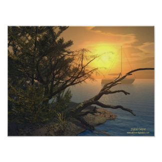 A Sunset View Poster