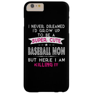 A Super cute Baseball Mom Barely There iPhone 6 Plus Case