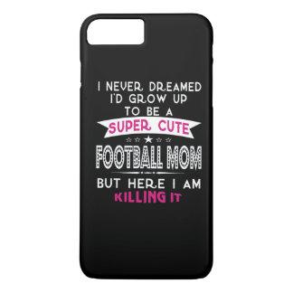 A Super cute Football Mom iPhone 8 Plus/7 Plus Case