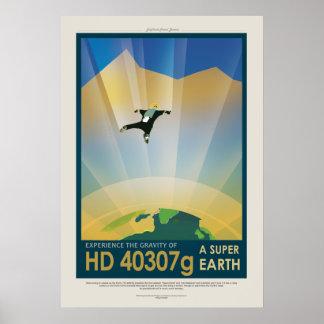A Super Earth Poster