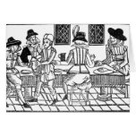A Supper Party, a 'Book of Roxburghe Ballads' Cards