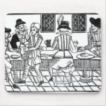 A Supper Party, a 'Book of Roxburghe Ballads' Mouse Pad