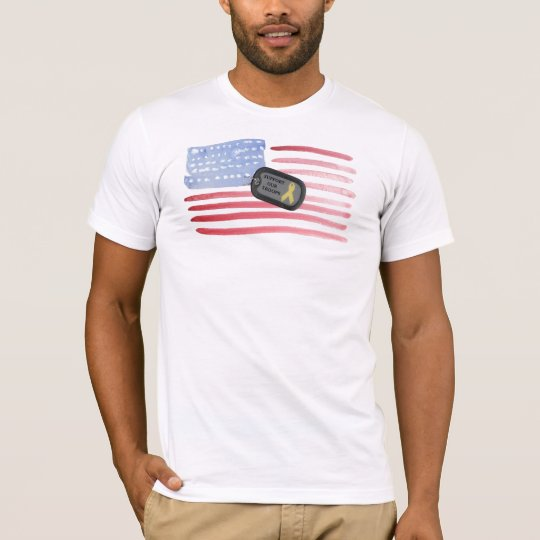 A Support Our Troops T-Shirt