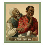 A Sure Winner ~ 1895 ~ Vintage Advertising Poster