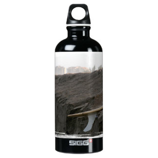 A surfboard sits on the beach in Florida on cliff SIGG Traveler 0.6L Water Bottle