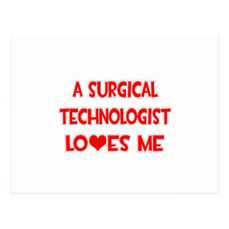A Surgical Technologist Loves Me Postcard