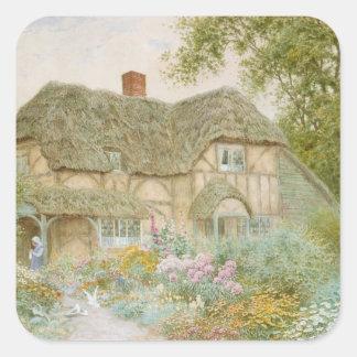 A Surrey Cottage Square Sticker