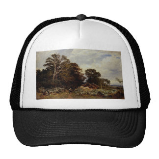 a surrey woodland Benjamin Williams Leader Trucker Hat