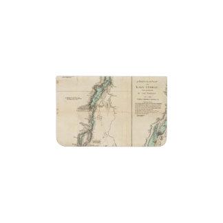 A Survey of Lake Champlain Business Card Holder