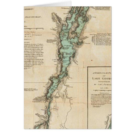 A Survey of Lake Champlain Card