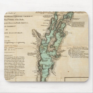 A Survey of Lake Champlain Mouse Pad
