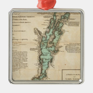 A Survey of Lake Champlain Christmas Ornament
