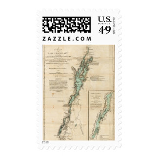 A Survey of Lake Champlain Postage Stamp