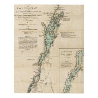 A Survey of Lake Champlain Wood Wall Art