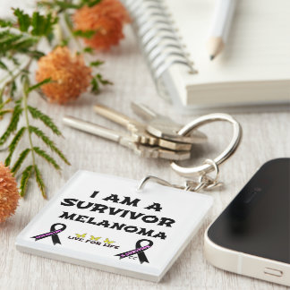 A Survivor Keychain
