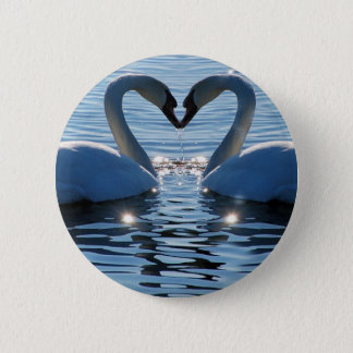 A Swan Heart Kiss, Reflections of Love Button