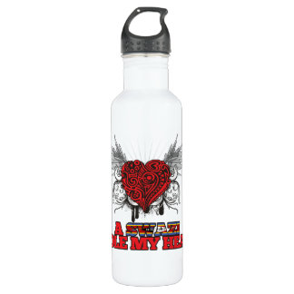 A Swazi Stole my Heart Water Bottle