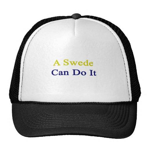 A Swede Can Do It Trucker Hat