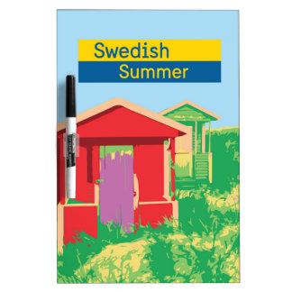A Swedish summer Dry Erase Board