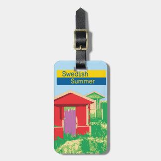 A Swedish summer Luggage Tag