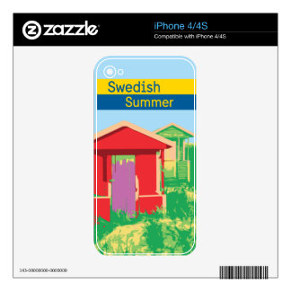 A Swedish summer Skin For The iPhone 4