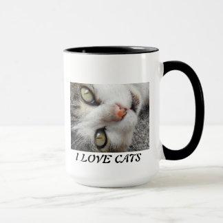 A SWEET AND BEAUTIFUL CAT MUG