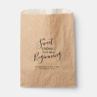 A Sweet Beginning Wedding Candy Bar Buffet FAVOR Favor Bag