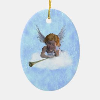 A sweet cherubic angel Ornament
