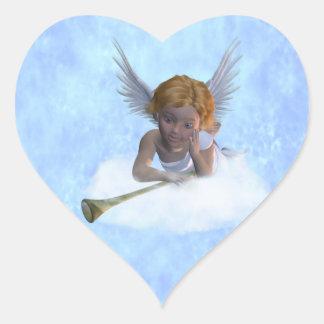 A sweet cherubic angel Sticker