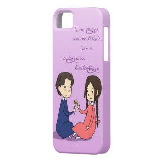 A sweet disadvantage iPhone 5 cover