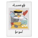 A sweet gift for you (customizable) Card