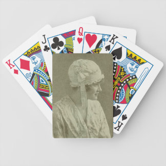A Sweet Little Nightcap Bicycle Poker Cards