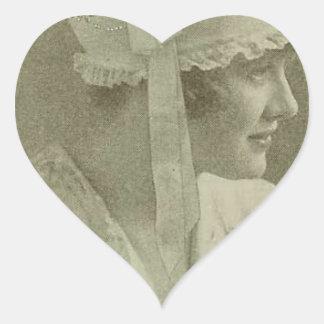 A Sweet Little Nightcap Heart Sticker