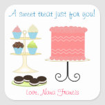 A Sweet Treat Baking Sticker at Zazzle