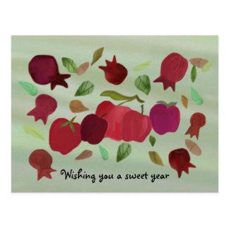 A Sweet Year Postcard