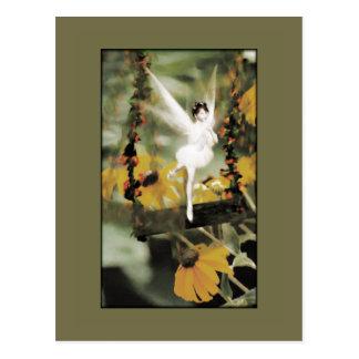 A Swing in the Garden Postcard