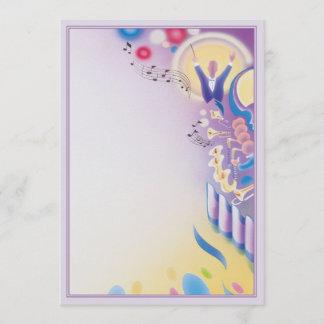 A Swingin' Affair © Note Card
