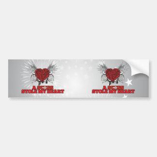 A Swiss Stole my Heart Car Bumper Sticker