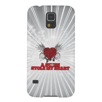 A Swiss Stole my Heart Galaxy S5 Cases