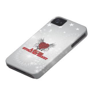 A Swiss Stole my Heart iPhone 4 Case