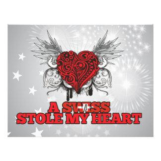 A Swiss Stole my Heart Flyer