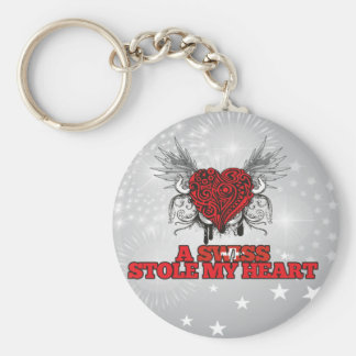 A Swiss Stole my Heart Key Chains