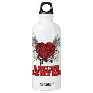 A Swiss Stole my Heart SIGG Traveler 0.6L Water Bottle