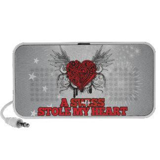 A Swiss Stole my Heart Mini Speaker