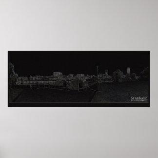 A Sydney Digital Walkscape Poster