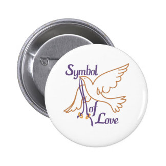 A Symbol Of Love 2 Inch Round Button
