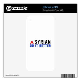 A Syrian Do It Better iPhone 4S Decals