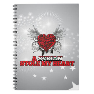 A Syrian Stole my Heart Notebook