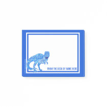 A T-Rex Colorful Dinosaur Prehistoric Animal Post-it Notes